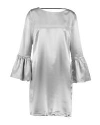 silbernes gerade geschnittenes Kleid von Armani Exchange