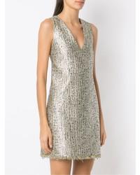 silbernes gerade geschnittenes Kleid von Nk