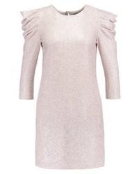 silbernes gerade geschnittenes Kleid von Miss Selfridge