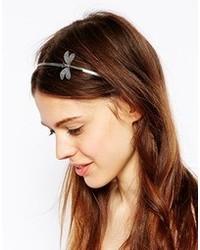 silbernes Haarband von Asos