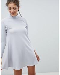 silbernes schwingendes Kleid von AX Paris