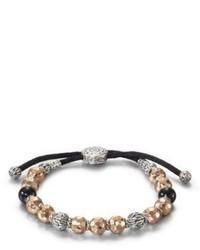 silbernes verziert mit Perlen Armband