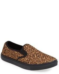 Slip on sneakers mit leopardenmuster original 9768714