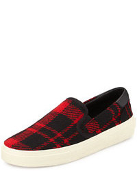 Slip on sneakers mit schottenmuster original 9768708