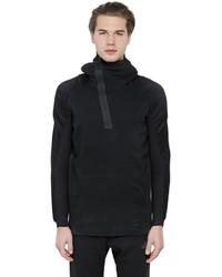 Strick Pullover mit einem Kapuze