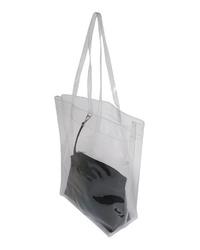 transparente Gummi Shopper Tasche von Vero Moda