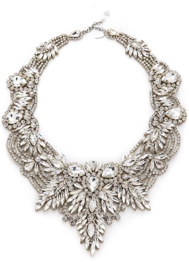 transparente Halskette von Jenny Packham