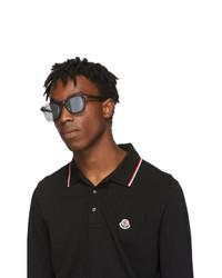 transparente Sonnenbrille von Moncler