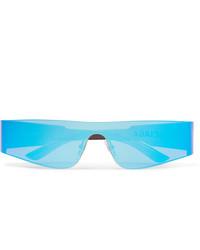 türkise Sonnenbrille von Balenciaga
