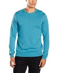 türkiser Pullover von Paul James Knitwear