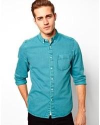 Tuerkises jeanshemd original 2773221