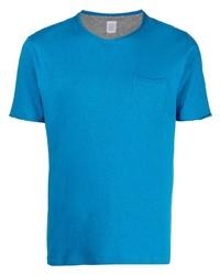 türkises T-Shirt mit einem Rundhalsausschnitt von Eleventy