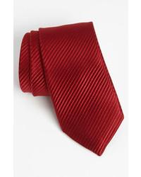 vertikal gestreifte Krawatte