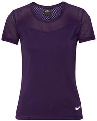 violette Bluse von Nike