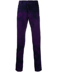 violette Mit Batikmuster Jeans von DSQUARED2