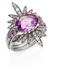 violette Juwelen