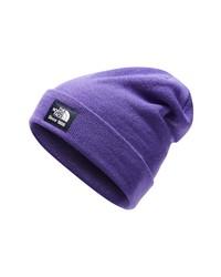 violette Mütze
