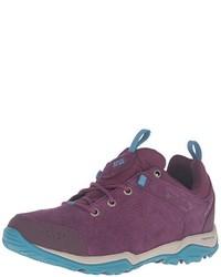 violette niedrige Sneakers von Columbia