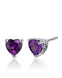 violette Ohrringe von Revoni