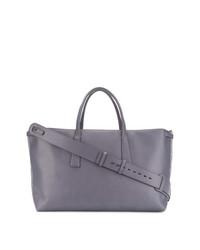 violette Shopper Tasche aus Leder von Zanellato