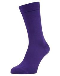 violette Socken von Pantone
