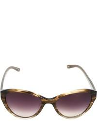 violette Sonnenbrille