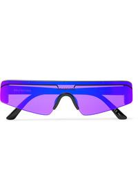 violette Sonnenbrille von Balenciaga
