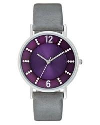 violette Uhr von Anna Field