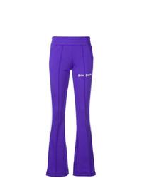 violette vertikal gestreifte Jogginghose von Palm Angels