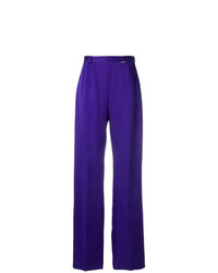 violette weite Hose von Styland