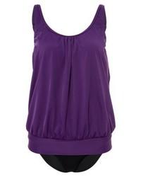 violetter Badeanzug von Lascana