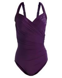 violetter Badeanzug von Miraclesuit