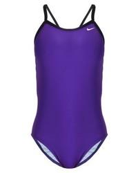 violetter Badeanzug von Nike