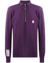violetter Polo Pullover von A-Cold-Wall*