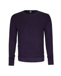 violetter Pullover mit einem Rundhalsausschnitt von Jacques Britt
