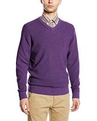 violetter Pullover von Casamoda