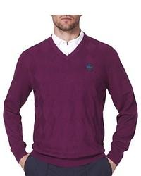 violetter Pullover von IJP Design