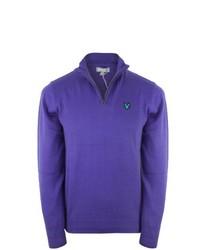violetter Pullover von Lyle & Scott