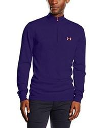 violetter Pullover von Under Armour