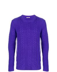 violetter Strickpullover von Nuur