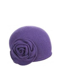 violetter Wollhut