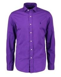 violettes Langarmhemd von Ralph Lauren