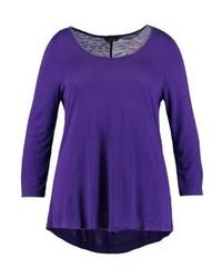 violettes Langarmshirt von Evans
