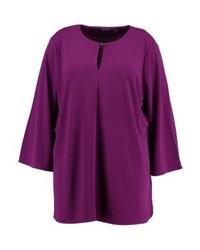 violettes Langarmshirt von Lauren Ralph Lauren Woman