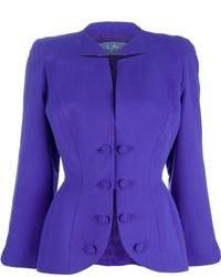 violettes Sakko