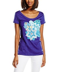 violettes T-shirt von Desigual