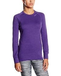 violettes T-shirt von Devold