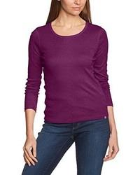 violettes T-shirt von Eddie Bauer