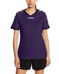 violettes T-shirt von Hummel