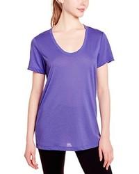 violettes T-shirt von Nike